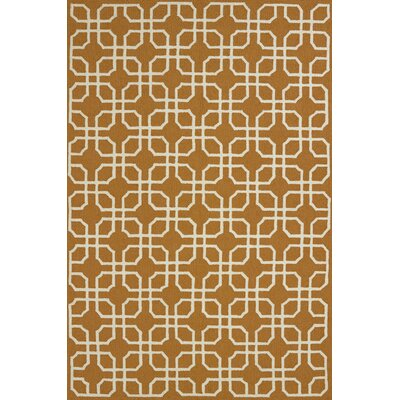 Atrium Handmade Cinnamon Indoor/Outdoor Area Rug Rug Size: 110 x 3