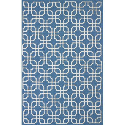 Atrium Handmade Blue Indoor/Outdoor Area Rug Rug Size: 5 x 76