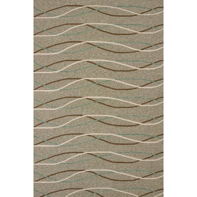 Atrium Handmade Brown/Gray Indoor/Outdoor Area Rug Rug Size: 110 x 3