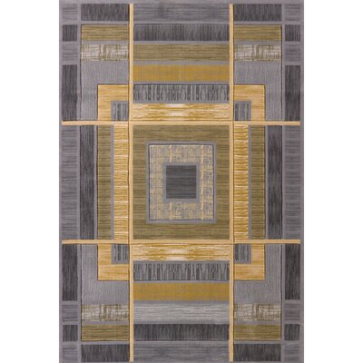 Rochelle Ambience Silver Area Rug Rug Size: 710 x 106
