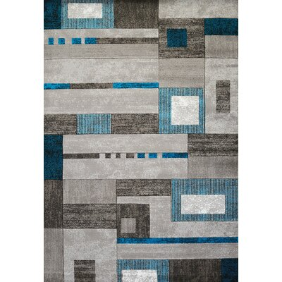 Studio Gray Area Rug Rug Size: Runner 111 x 72
