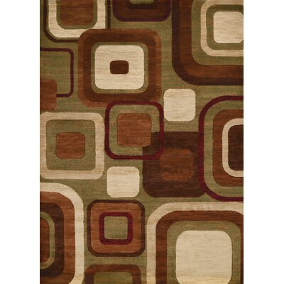 Studio Brown Area Rug Rug Size: 110 x 3