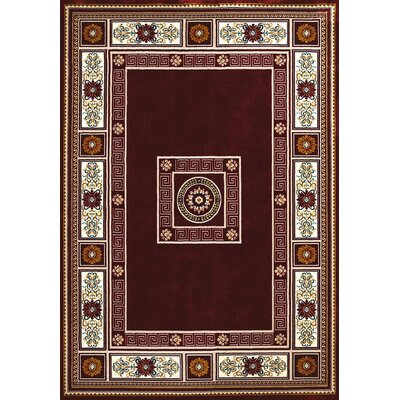 Antiquities Red/Brown Area Rug Rug Size: 710 x 106