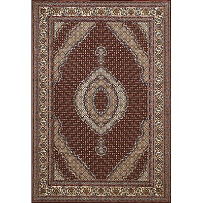 Antiquities Brown Area Rug Rug Size: 53 x 72