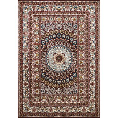 Antiquities Jaipur Brown/Beige Area Rug Rug Size: 53 x 72