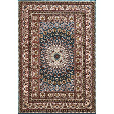 Antiquities Jaipur Blue/Brown Area Rug Rug Size: 710 x 106