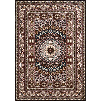 Antiquities Jaipur Brown/Beige Area Rug Rug Size: 710 x 106