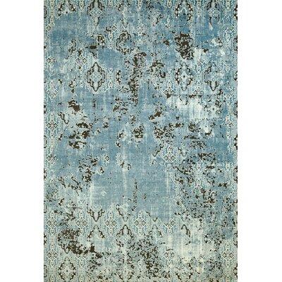 Rarity Aqua Area Rug Rug Size: 110 x 3