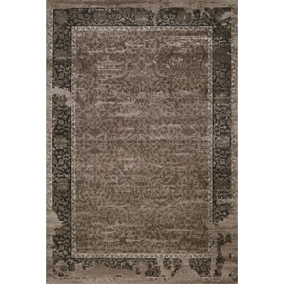 Relic Taupe Area Rug Rug Size: 110 x 3