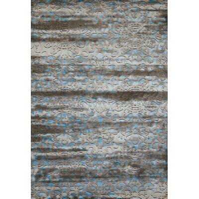 Victorian Aqua Area Rug Rug Size: 710 x 106
