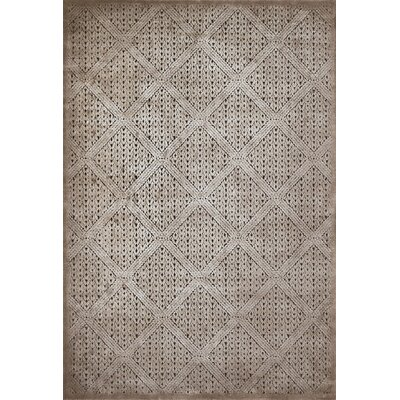 Devonshire Taupe Area Rug Rug Size: 110 x 3