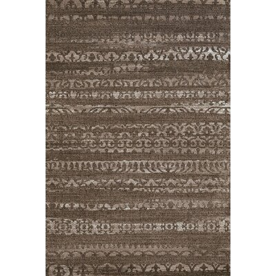 Classic Taupe Area Rug Rug Size: 111 x 72
