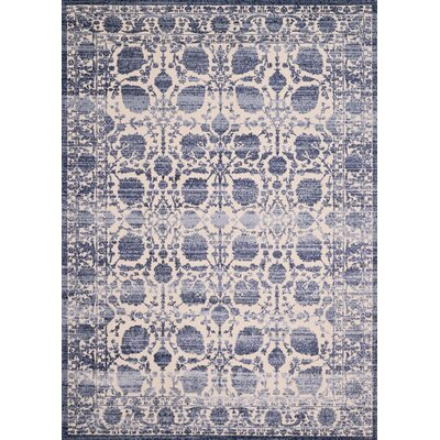 Dais Blue Area Rug Rug Size: Rectangle 53 x 72