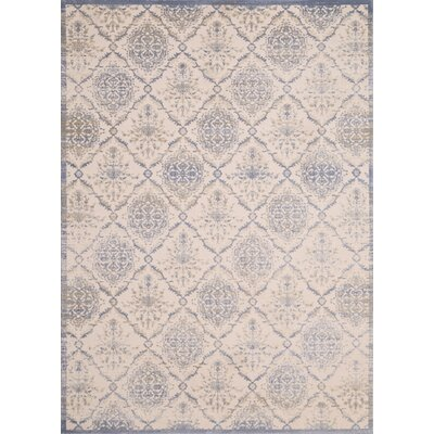 Dais Blue/Brown Indoor/Outdoor Area Rug Rug Size: Rectangle 111 x 72