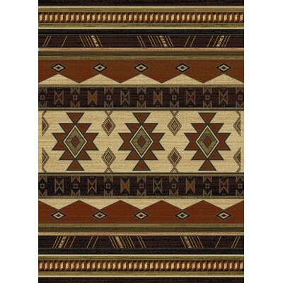 China Garden Southwest Wind Auburn Area Rug Rug Size: 7'10