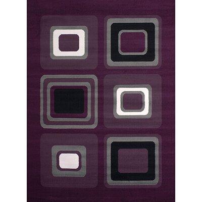 Dallas Spaces Lilac Area Rug Rug Size: 111 x 33