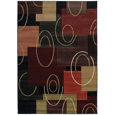 Ganley Multi-Colored Rug Rug Size: 710 x 106