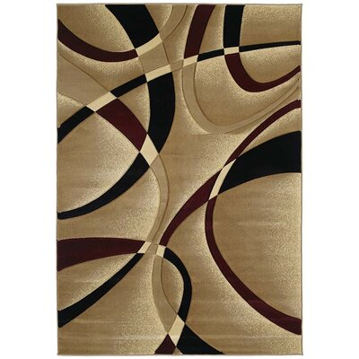 Robin LaChic Burgundy Area Rug Rug Size: 110 x 3
