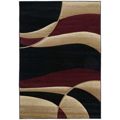 Rochelle Avalon Burgundy Area Rug Rug Size: Runner 27 x 74