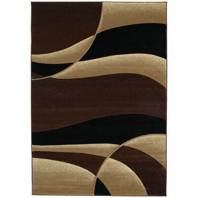 Rochelle Avalon Toffee Area Rug Rug Size: Runner 27 x 74