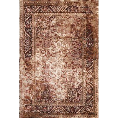 Randers Brown Area Rug Rug Size: Rectangle 27 x 311