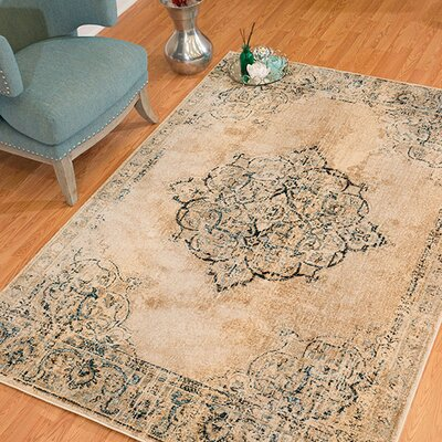 Randers Parchment Area Rug Rug Size: 110 x 3