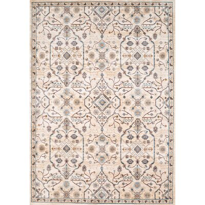 Jansson Oriental Bone Area Rug Rug Size: Rectangle 53 x 710