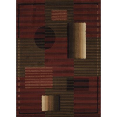 China Garden Walden Auburn Rug Rug Size: Rectangle 110 x 3