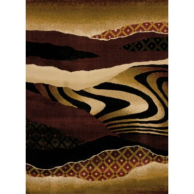 China Garden Mojave Auburn Area Rug Rug Size: Rectangle 53 x 72