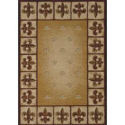 China Garden Fleur De Lys Area Rug Rug Size: Rectangle 110 x 3