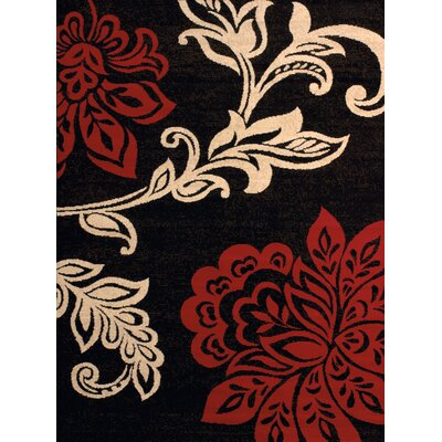Dallas Dallas Trouseau Red Area Rug Rug Size: 111 x 33