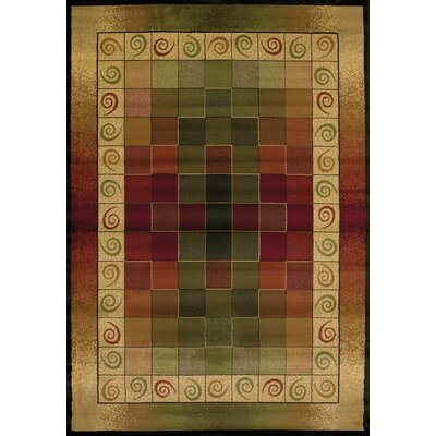 Genesis Montage Lodge Area Rug Rug Size: Rectangle 53 x 76