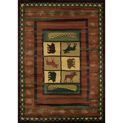 Genesis Hearthstone Lodge Area Rug Rug Size: Runner 111 x 74
