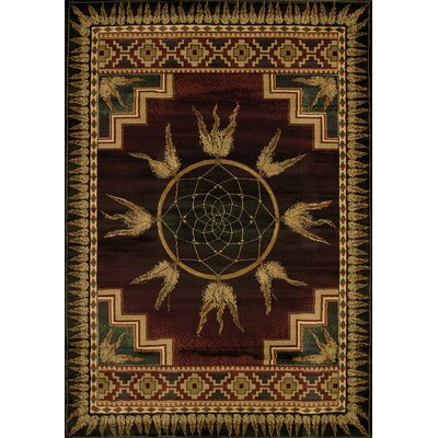 Genesis Dream Southwestern Catcher Lodge Area Rug Rug Size: Rectangle 7'10