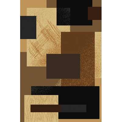 Manhattan Soho Brown Area Rug Rug Size: 710 x 106