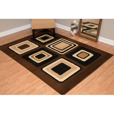 Dallas Spaces Brown Area Rug Rug Size: 710 x 106