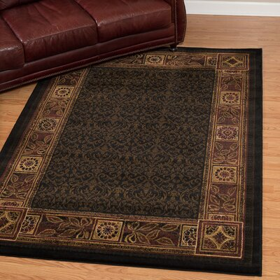 China Garden Cyprus Tobacco Area Rug Rug Size: Rectangle 53 x 72