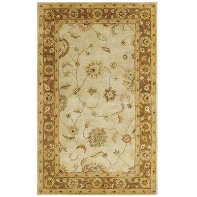 Charisma Beige Persian Rug Rug Size: Rectangle 96 x 136
