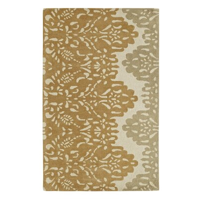 Palace Gold/Beige Area Rug Rug Size: 96 x 136