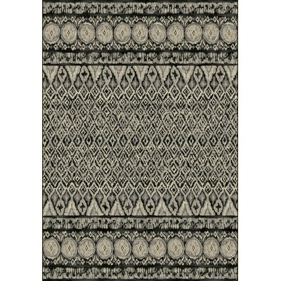 Leonard Gray Area Rug Rug Size: Rectangle 710 x 1010