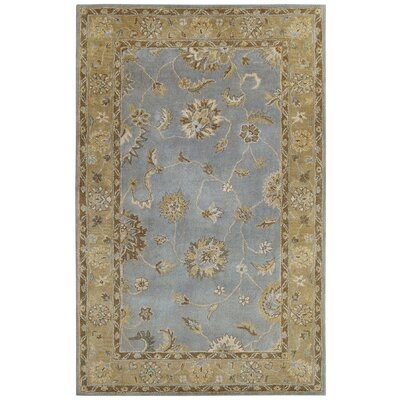 Charisma Light Blue Persian Rug Rug Size: 67 x 96