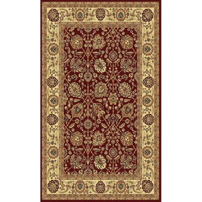 Taj Ruby Area Rug Rug Size: Rectangle 2 x 35