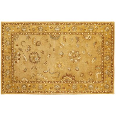 Charisma Rust Persian Area Rug Rug Size: Rectangle 67 x 96
