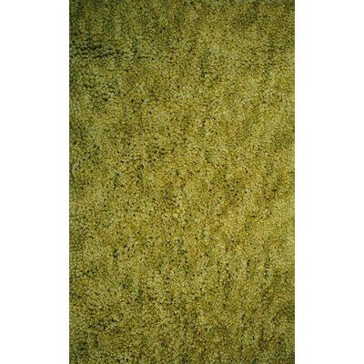 Luxury Shag Olive Area Rug Rug Size: 8 x 10