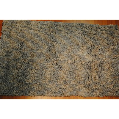 Luxury Shag Gray Area Rug Rug Size: Rectangle 5 x 8