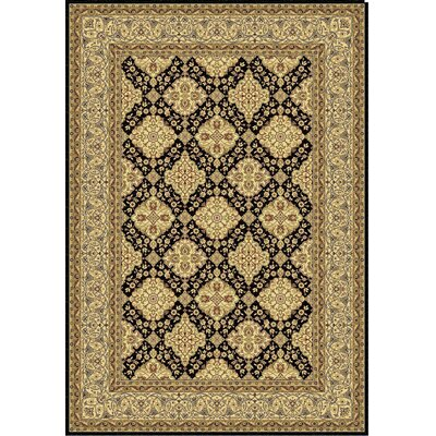 Taj Black Area Rug Rug Size: Rectangle 311 x 57