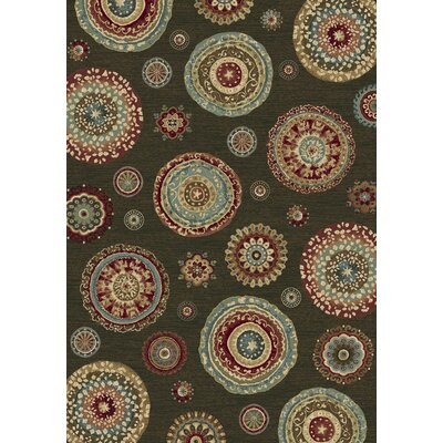 Ancient Garden Persian Multi Area Rug Rug Size: 53 x 77