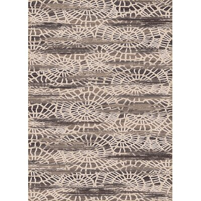 Treasure Cream Abstract Area Rug Rug Size: 67 x 96