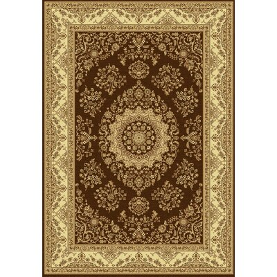 Taj Brown/Beige Area Rug Rug Size: Rectangle 311 x 57