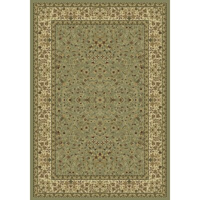 Ancient Garden Persian Olive Area Rug Rug Size: 6'7 x 9'6